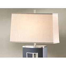 Nova Lighting 'Pierce' Curved Table Lamp