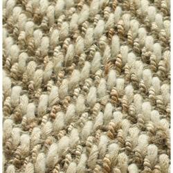 nuLOOM Handmade Restoration Living Wool and Jute Rug (4' x 6') - Thumbnail 1