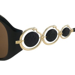 Roberto Cavalli Women's 'Blenda' Oval Fashion Sunglasses - Thumbnail 1