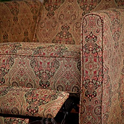 Paisley Recliner Club Chair - Thumbnail 1