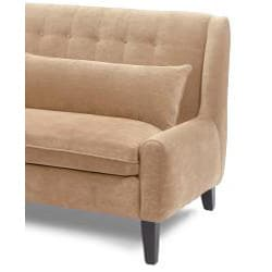 Scandia Latte Contemporary Sofa Free Shipping Today