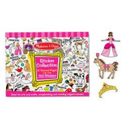 Melissa & Doug Sticker Collection Book - Thumbnail 1