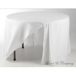 Eva Basic 72-inch Round Fitted Tablecloth - Thumbnail 1
