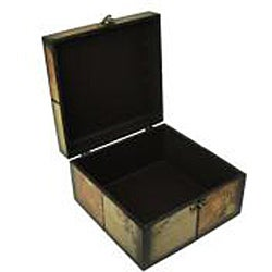 Decorative Jewelry & Keepsake Box with Colorful Butterfly (Set of 2)