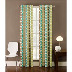 Contemporary 84-inch Highlife Curtain Panel
