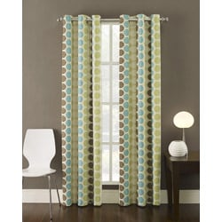 Contemporary 95-inch Highlife Curtain Panel - Thumbnail 1