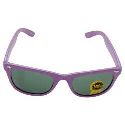 Unisex Purple Fashion Sunglasses - Thumbnail 1
