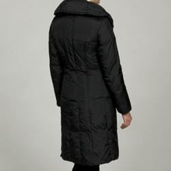 Cole Haan Women's 3/4-length Pillow Collar Coat FINAL SALE