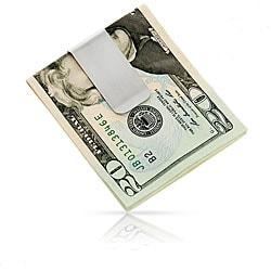 Sleek Steel Money Clip