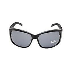 Ladies Onyx Black Embellished Fashion Sunglasses - Thumbnail 1