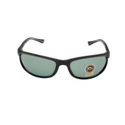Unisex Onyx Black Fashion Sunglasses - Thumbnail 1