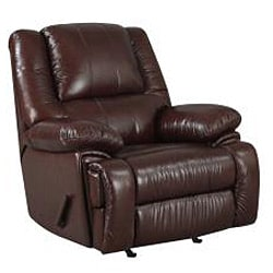 New Creations Camden Chestnut Color Contemporary Recliner - Thumbnail 1