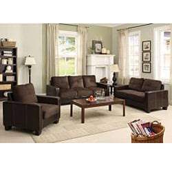Furniture of America Aston 3-piece Sofa, Loveseat and Chair Set