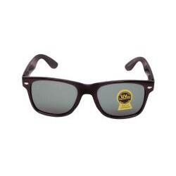 Unisex Onyx Black Printed Fashion Sunglasses
