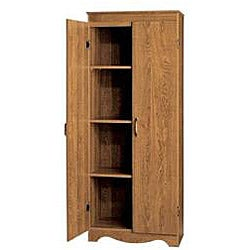 Talon Multipurpose Two Door Scalloped Base Storage Cabinet - Thumbnail 1