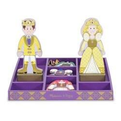 Melissa & Doug Prince and Princess Dress-up Play Set - Thumbnail 1