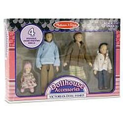 Melissa & Doug Victorian Caucasian Doll Family Set - Thumbnail 1