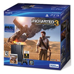 PS3 - 320gb Uncharted 3: Drake's Deception Bundle - Thumbnail 1
