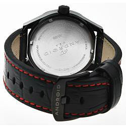 Android Stainless Steel Men's Euxine 45 Red Crystal Watch