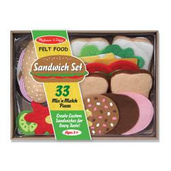 Melissa & Doug Felt Food Sandwich Play Set - Thumbnail 1