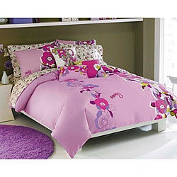 Roxy Hot House Floral Cotton 200 Thread Count Full-size Sheet Set - Thumbnail 1