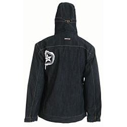 Sessions Men's Extra-small Denim Tombstone Le Snowboard Jacket