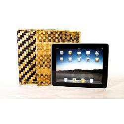 Woven Banana Leaf iPad Case (Rwanda) - Thumbnail 1