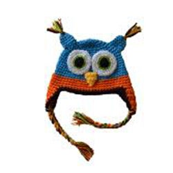 WhooHats Boy's Owl Crochet Hat - Thumbnail 1