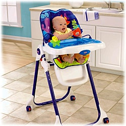 Fisher-Price Ocean Wonders Healthy Care High Chair - Thumbnail 1