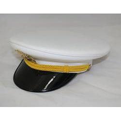 Ferrecci Men's White Cadet Hat - Thumbnail 1