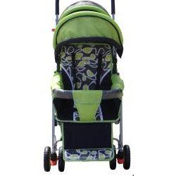 BeBeLove Green Tandem Stroller - Thumbnail 1