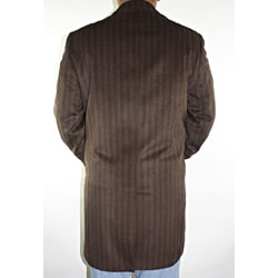 Ferrecci Men's Brown Wool-blend Coat - Thumbnail 1