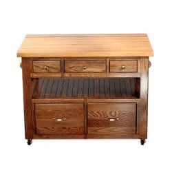 Bradley Brand Furniture Buffalo River Kitchen Island - Thumbnail 1
