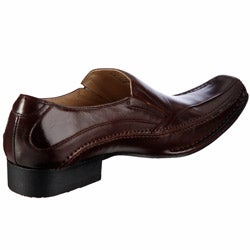 Steve Madden Men's 'Bigg' Brown Loafers - Thumbnail 1