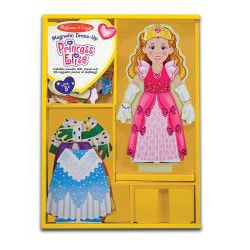 Melissa & Doug Princess Elise Magnetic Dress-Up - Thumbnail 1