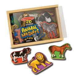 Melissa & Doug Magnetic Wooden Animals - Thumbnail 1