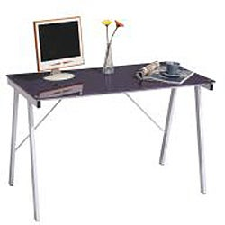 Exponent Purple Office Desk/ Drafting Table - Thumbnail 1