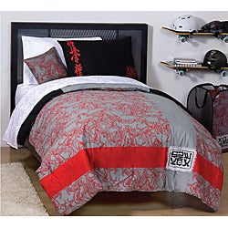 X Games 'Dragon' Full-size 5-piece Reversible Bed in a Bag with Sheet Set - Thumbnail 1