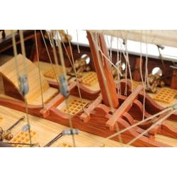 Old Modern Handicrafts Xebec Model Boat - Thumbnail 1