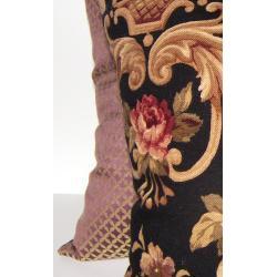 Pavillion Black Decorative Pillows (Set of 2)