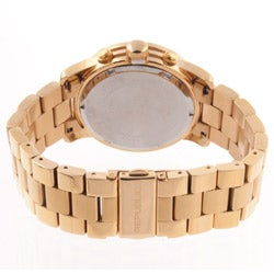 Republic Women's Goldtone Stainless Steel Chronograph Watch - Thumbnail 1