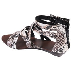 Journee Collection Women's 'Denisa' Strappy Gladiator Sandals - Thumbnail 1
