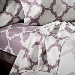 Lyon Cotton Rich Percale 300 Thread Count King/ California King Sheet Set