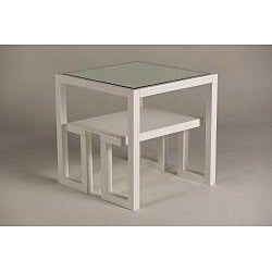 Jade Mirror-Top End Table - Thumbnail 1