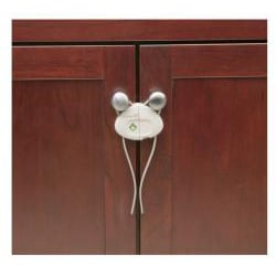 Safety 1st Push n' Snap Cabinet Lock (Pack of 2) - Thumbnail 1