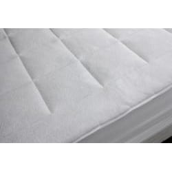 Dream Cloud Micro Plush Queen/ King/ California King-size Mattress Pad - Thumbnail 1