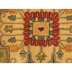 Hand-Tufted Royal Serapi Navy Wool Rug (8' x 5')