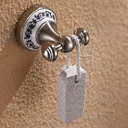 Kraus Apollo Bathroom Accessories - Double Hook Brushed Nickel