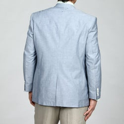 Adolfo Men's 2-button Chambray Sportcoat FINAL SALE