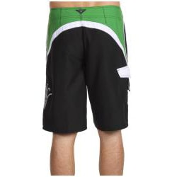 O'Neill Men's 'Grinder' White/ Green Boardshorts - Thumbnail 1